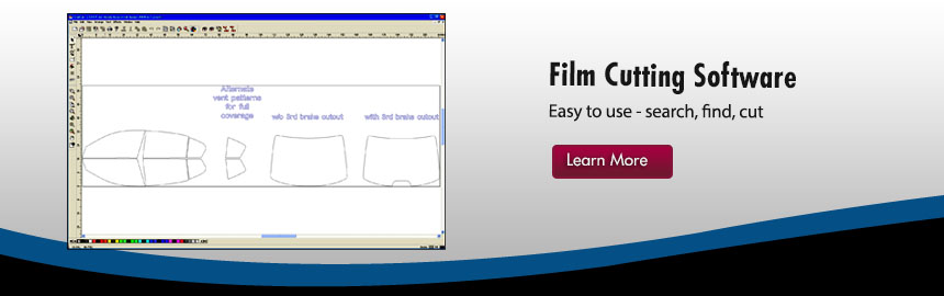 window tint cutting software paint protection cutting film
